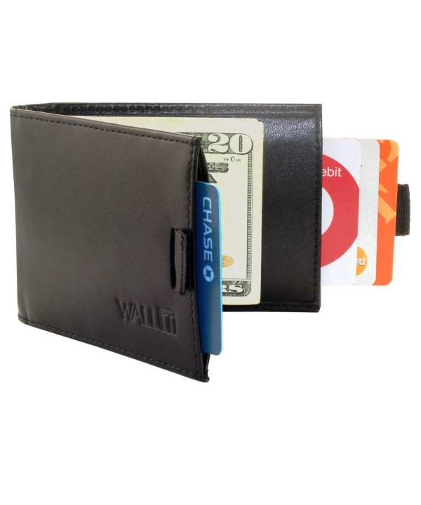 Slim Wallet Money Clip Blocking