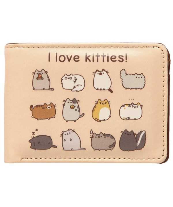 Pusheen Cat Love Kitties Wallet