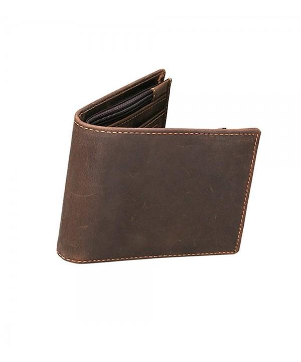 AlALEI Genuine Leather Wallet Blocking