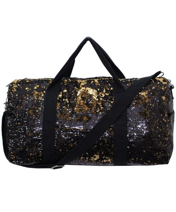 Black Sequin NGIL Cheer Duffle
