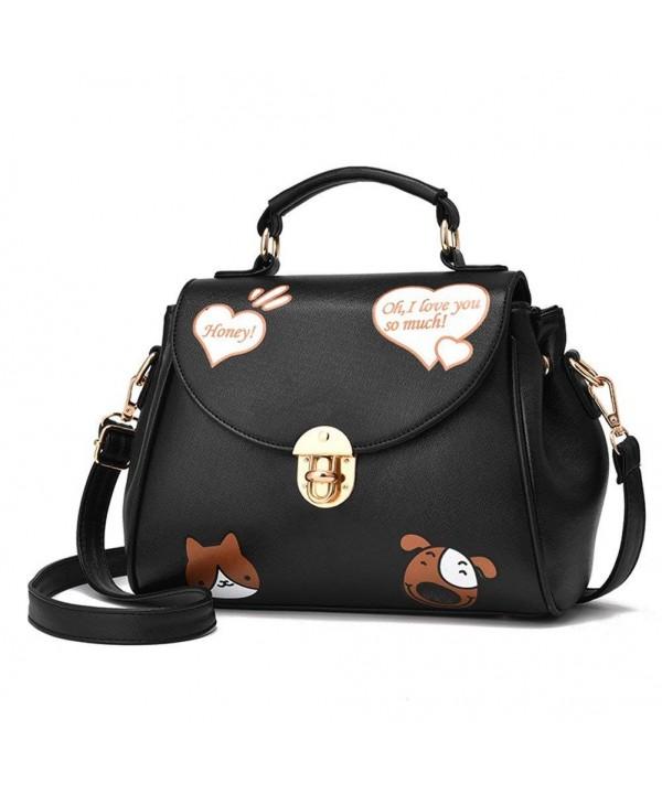 Cartoon Handbag Crossbody Shoulder Satchel