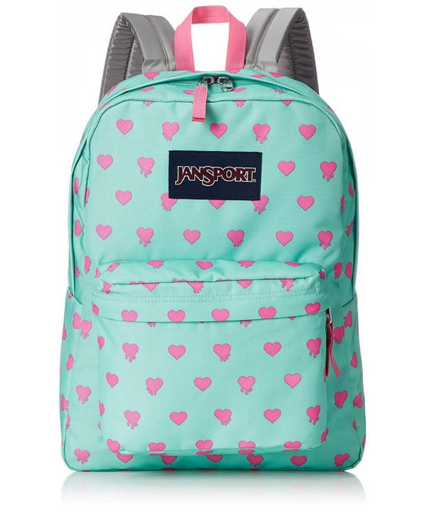 JanSport Unisex SuperBreak Cascade Bleeding
