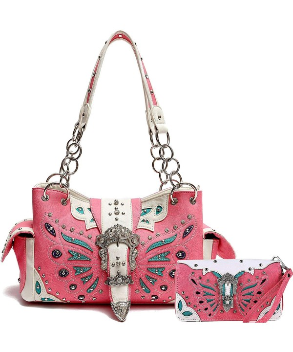 Cowgirl Trendy Concealed Butterfly Shoulder