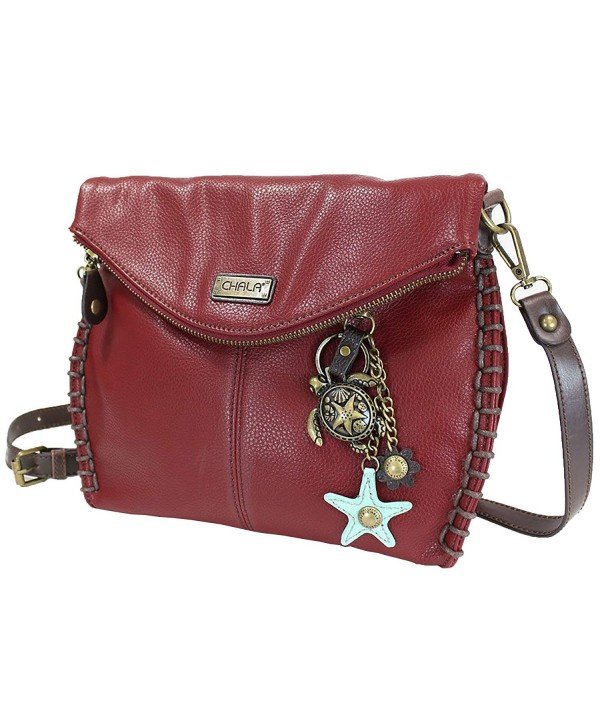 Chala Charming Crossbody Zipper Metal