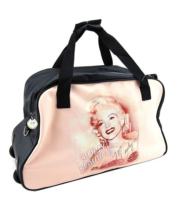 Marilyn Monroe Rolling Duffel Bag