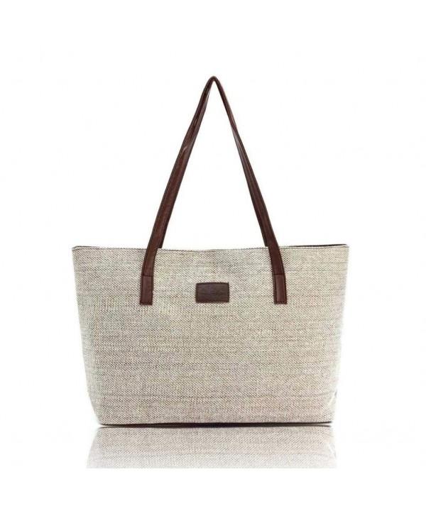 Hemlock Shoulder Handbags Shopping Canvas