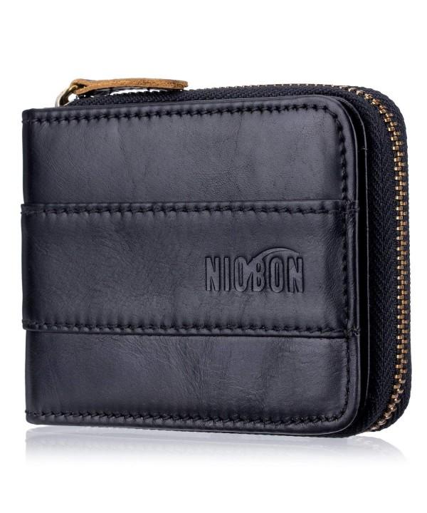 Blocking Genuine Leather Wallet Vintage