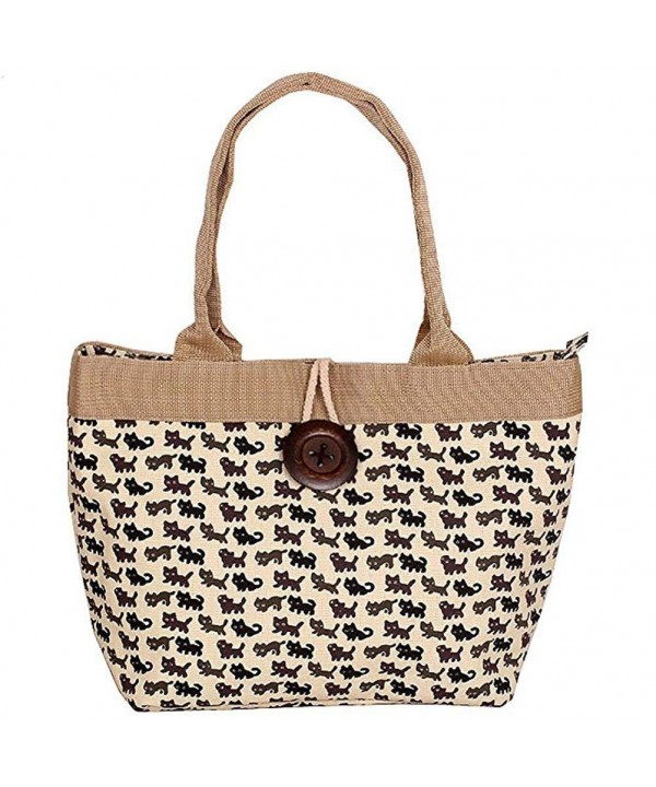 Donalworld Summer Printing Shopping Handbag