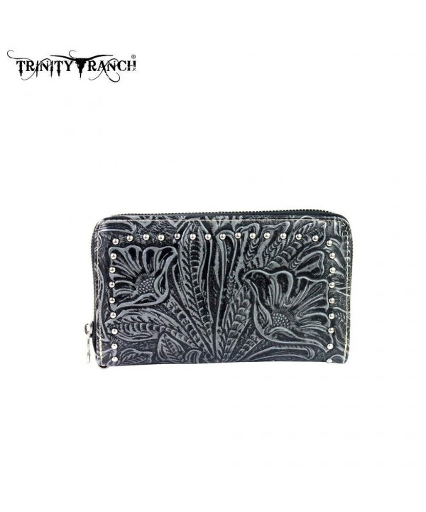 TR24 W003 Montana West Trinity Wallet Black