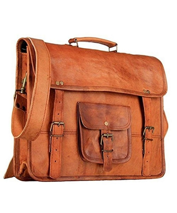Genuine Leather Vintage Messenger Handmade