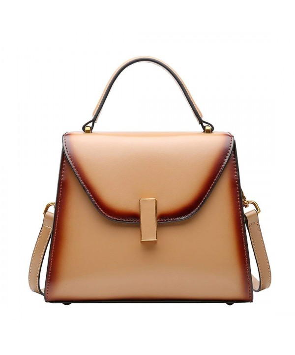Leather Shoulder Handbags Designer Ladies