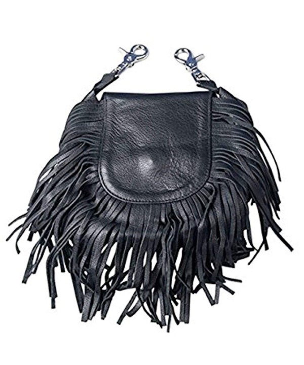 Leathers LADIES LEATHER Fringe Adjustable