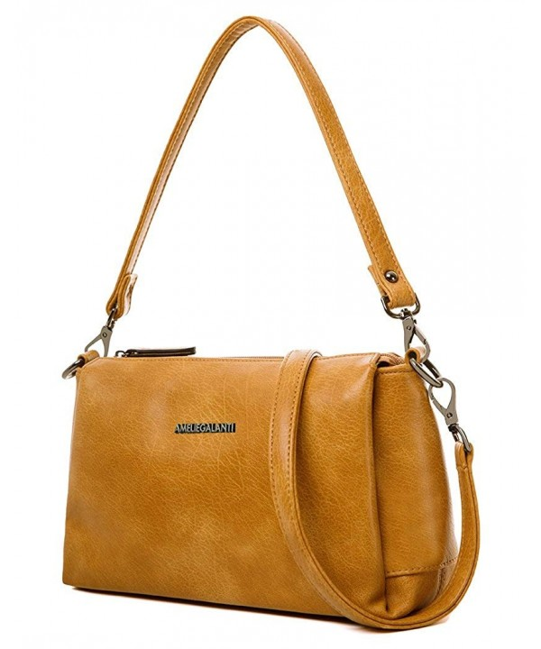 Crossbody Handbags Shoulder Leather Detachable