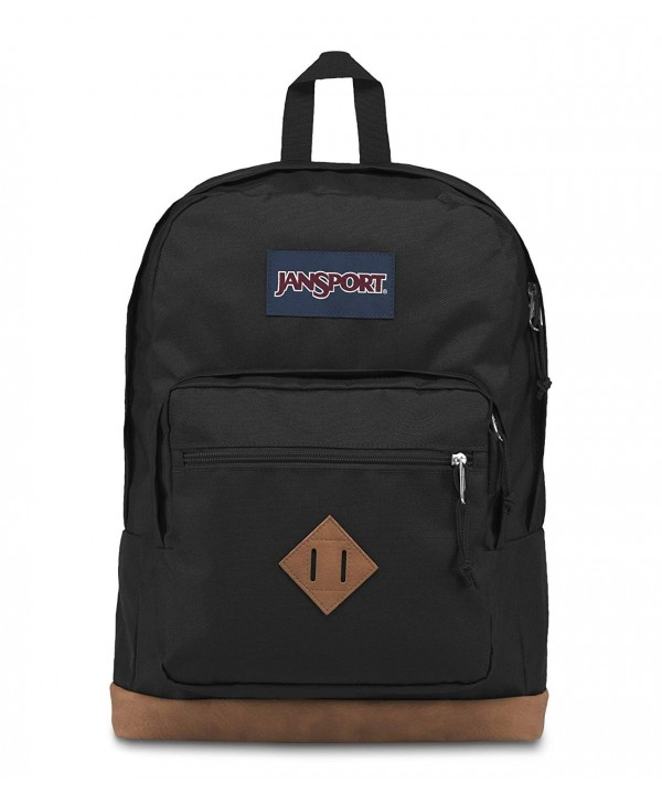 JanSport JS0A3P3U008 City Backpack Black