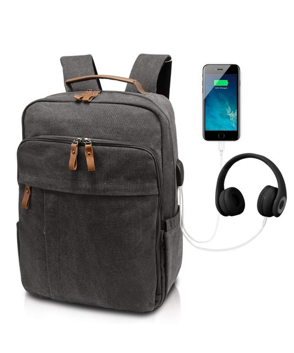 Business Backpack 15 15 6 Charging Water Resistant