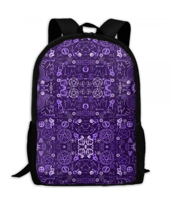 KHDAA Supernatural Symbols Backpack Bookbags