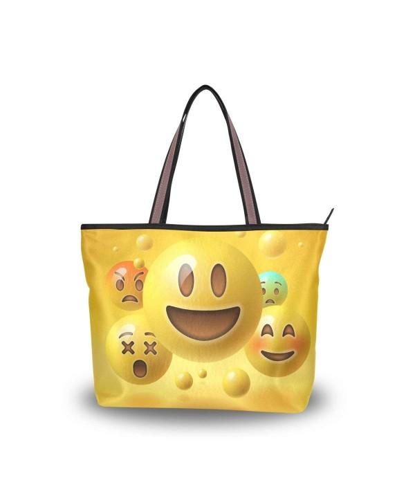 JSTEL Handle Shoulder Emoticons Handbag
