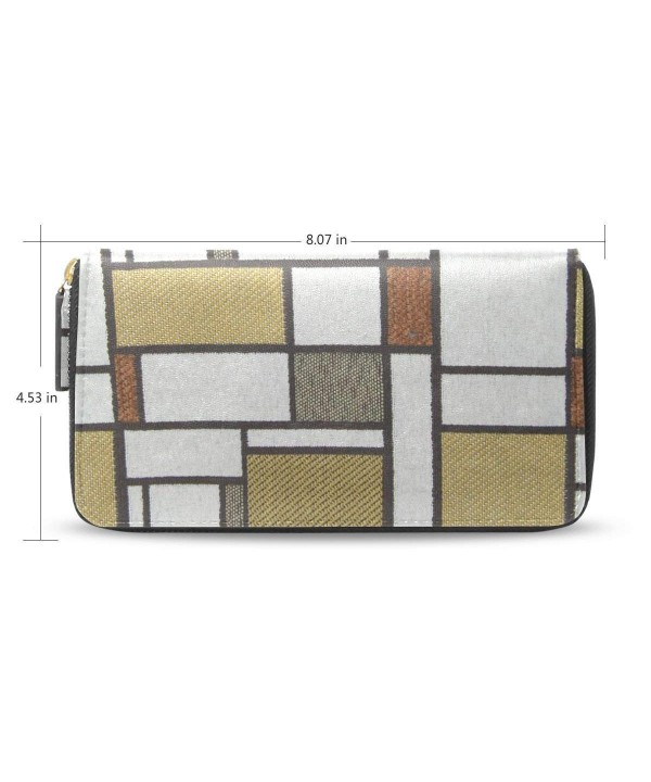 Womens Fabric Pattern Wallet Holder