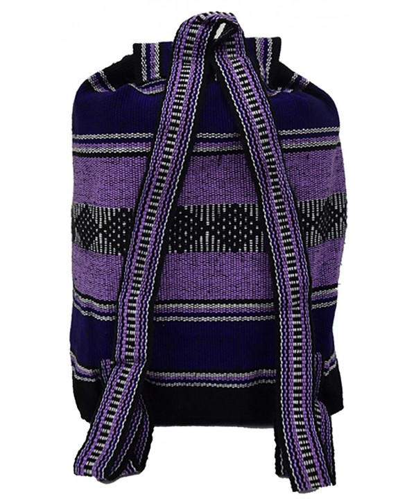 Baja Backpack Ethnic Woven Mexican