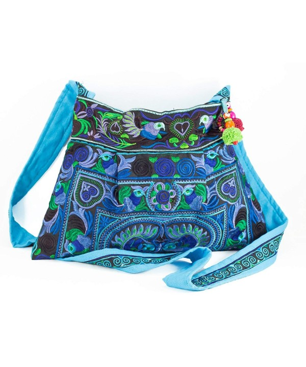 Changnoi Hmong Handmade Handbags Embroidered