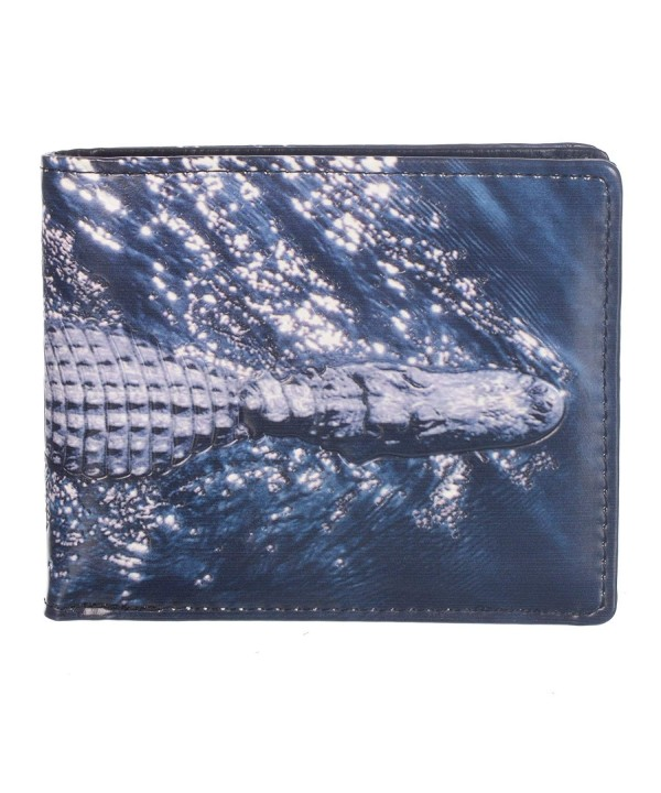 Shag Wear Bifold Wallet Alligator