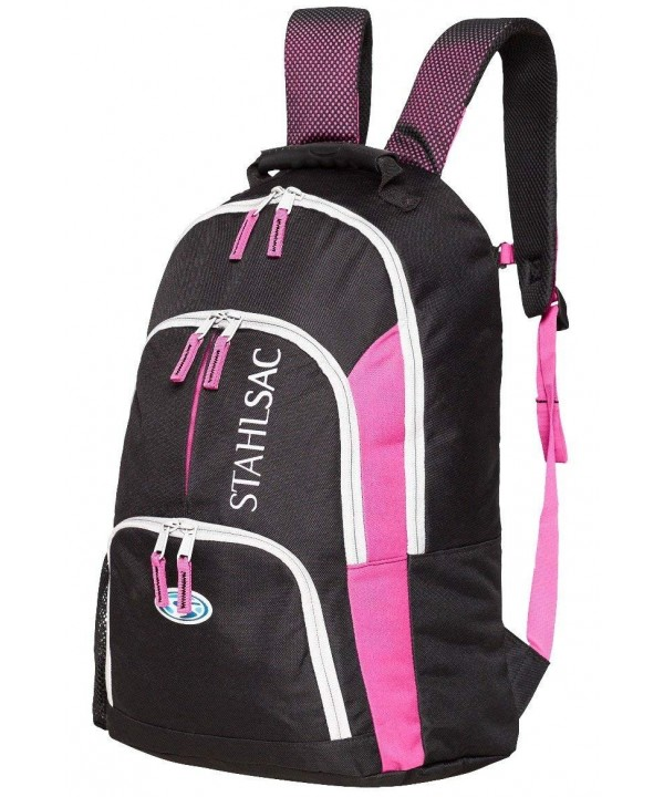Stahlsac Bora Backpack Black Pink