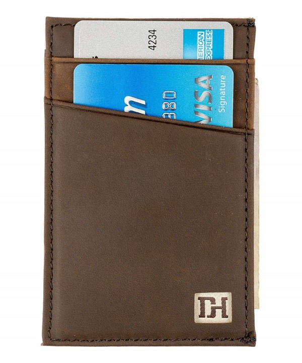 Slim Leather Wallets Men Credit