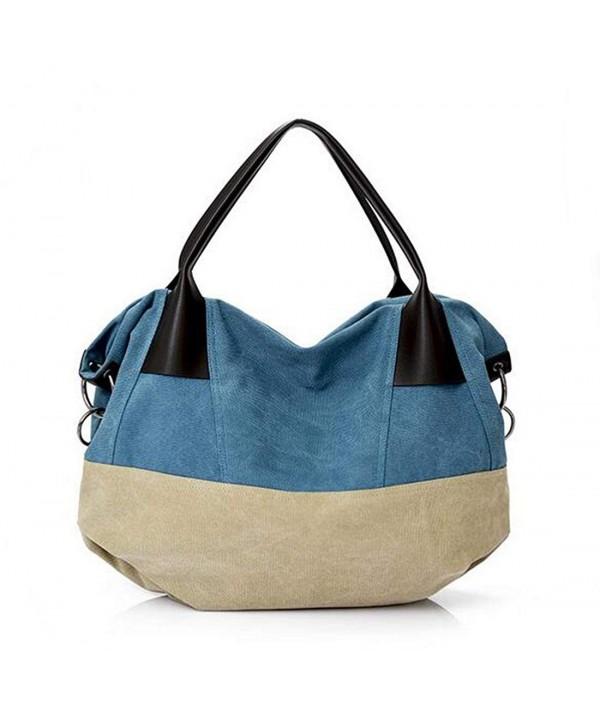 Fansela Canvas Handbag Crossbody Shopping