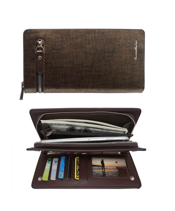 Wallets Capacity Bifold Wallet Holder