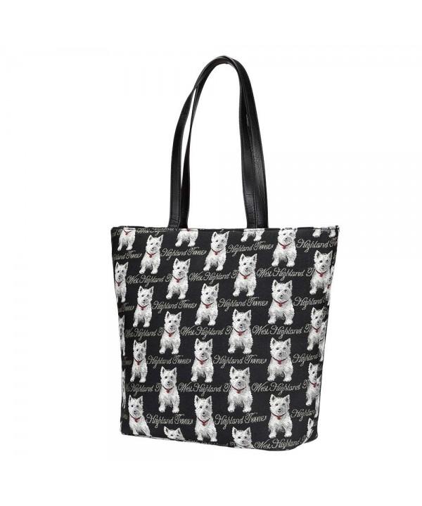 Tapestry Shoulder Handbags Signare SHOU WES