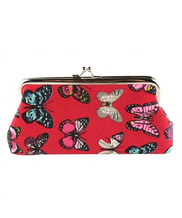 Bestpriceam Womens Butterfly Wallet Handbag