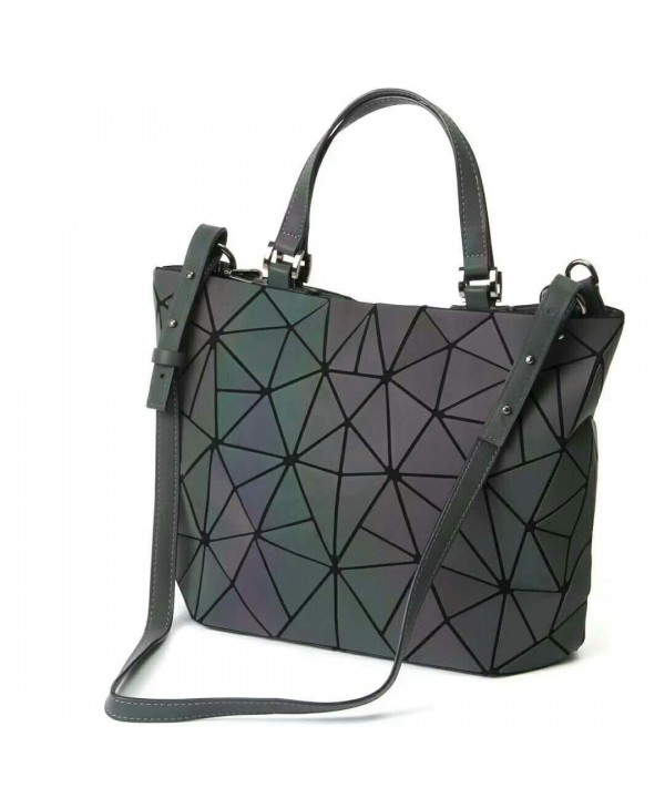 Handbags Geometric Luminous Holographic Shoulder