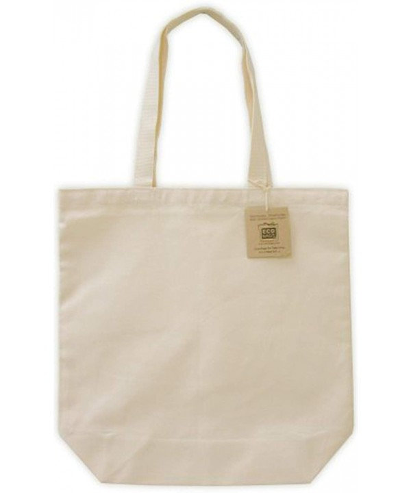 Ecobags Organic Canvas Tote Bag