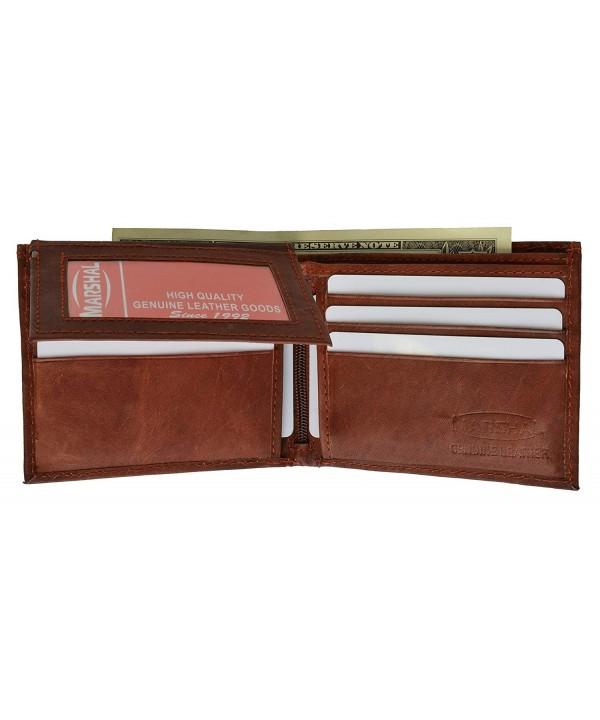 Leather Bi fold Mens Wallet 533CF