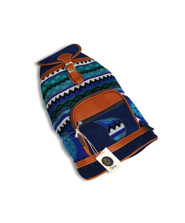 Colorful Backpack Handmade Ecuadorian Indigenous