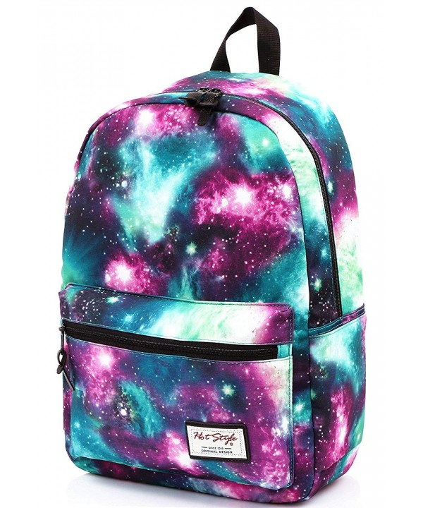 TRENDYMAX Galaxy Backpack School 15 4 inch