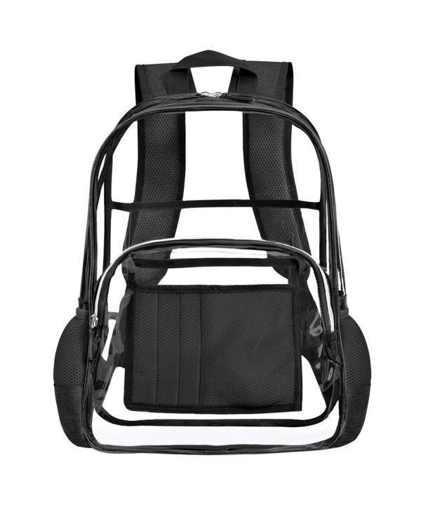 Backpack Through College Transparent Knapsack
