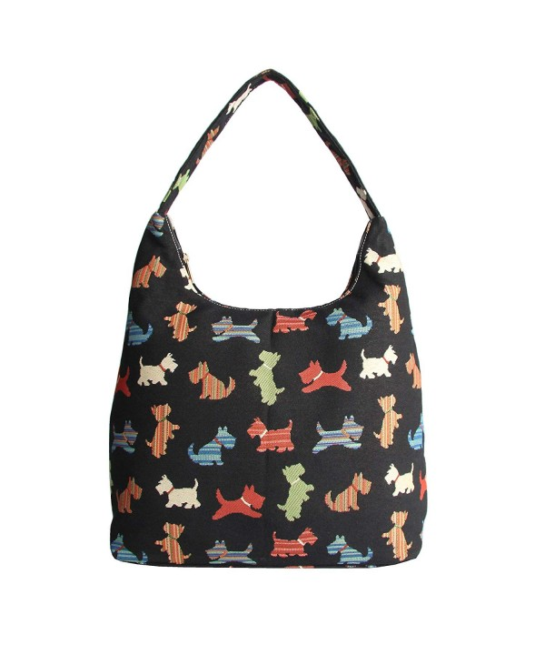 Signare Scottie Tapestry Shoulder HOBO