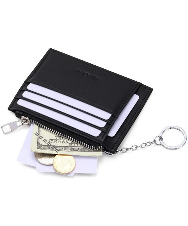 HISCOW Wallet Keychain Credit Slots