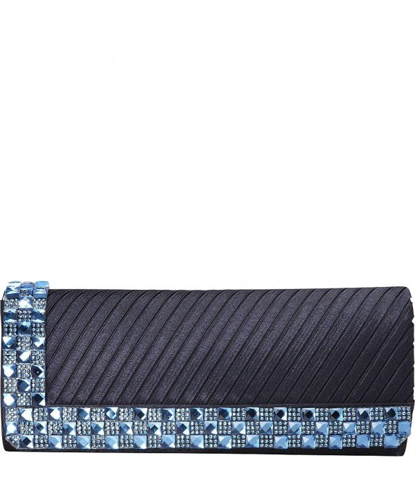 J Furmani Victoria Clutch Navy x