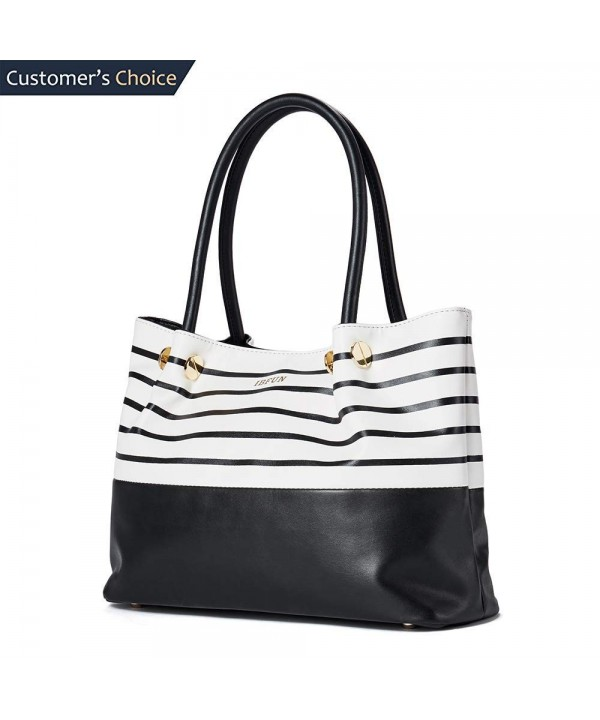 Handbags Leather IBFUN Shoulder Satchels