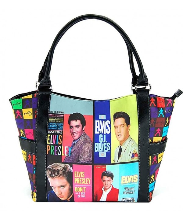 Elvis Presley Large Purse Collage