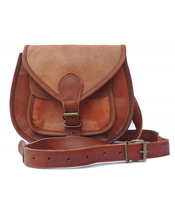 Ladies Leather Shoulder Vintage Satchel