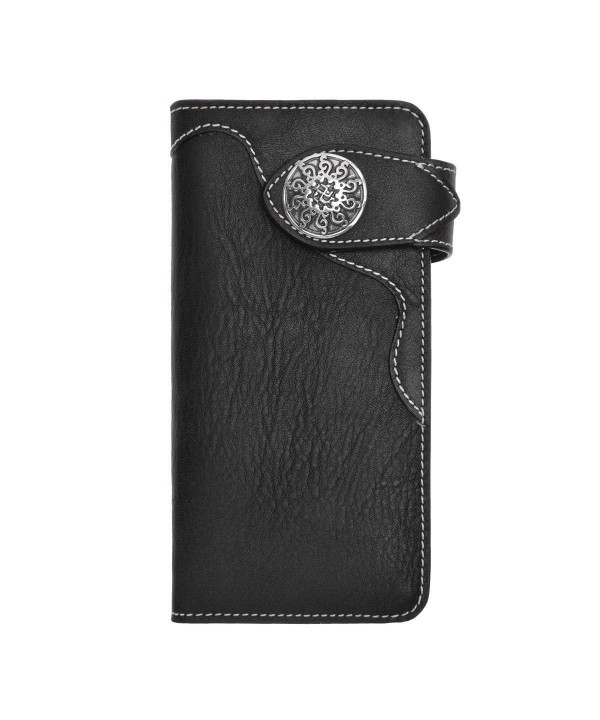 ZLYC Bifold Credit Leather Wallets