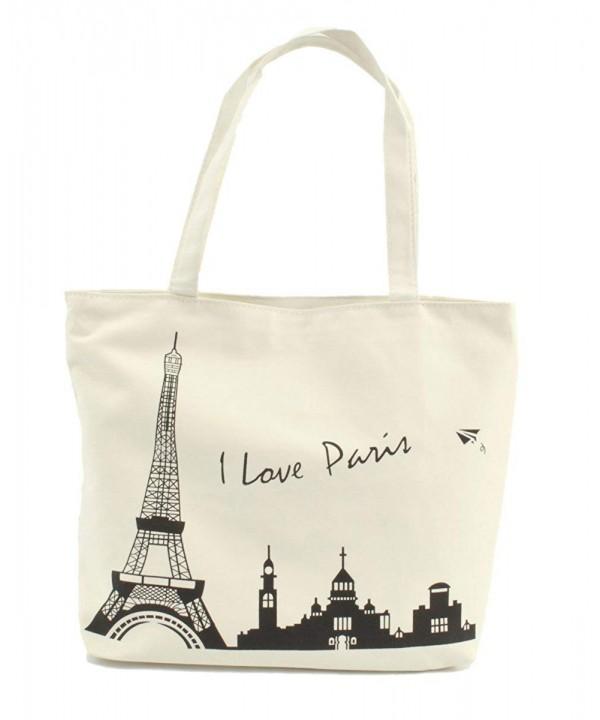LSW Love Paris Canvas Shoulder