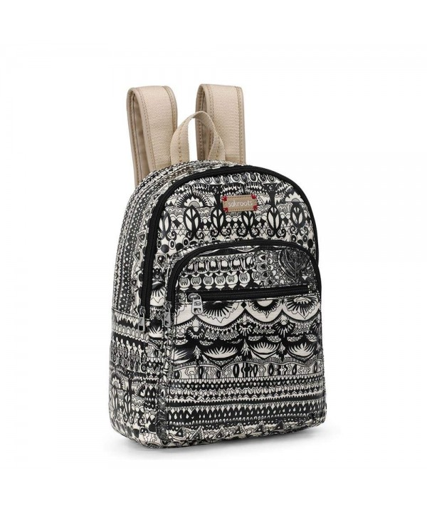 Sakroots Artist Circle Backpack BLACK