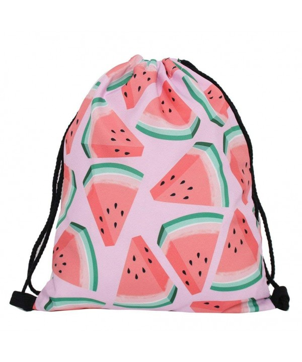 Violet Mist Drawstring Lightweight Watermelon