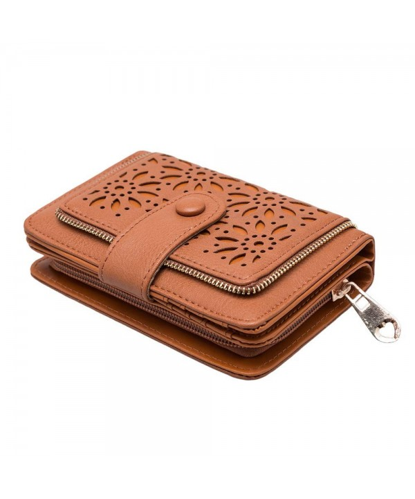 Leather Vintage Hollow Bifold GLITZALL