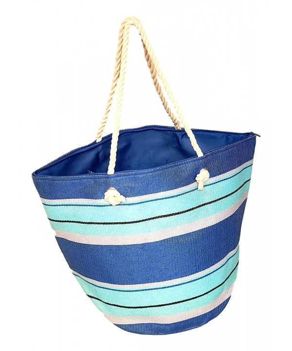 Bucket Striped Summer Womens Turquoise
