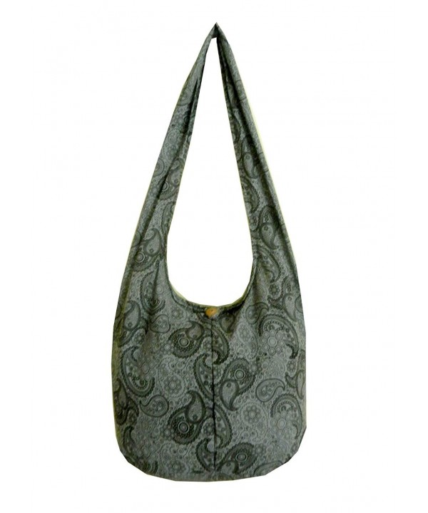 Cotton Hippie Crossbody Messenger Paisley